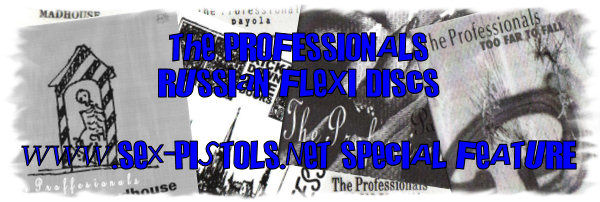 Professionals Russian Flexi Disc Singles