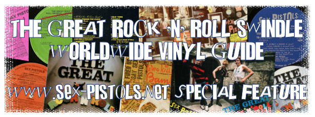 The Great Rock 'N' Roll Swindle Vinyl Worldwide